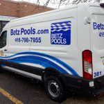 Don Mills Vehicle Wraps BETZ Transit Van 150x150