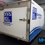 Whitchurch Stouffville Vehicle Wraps Betz trailer with logo 150x150